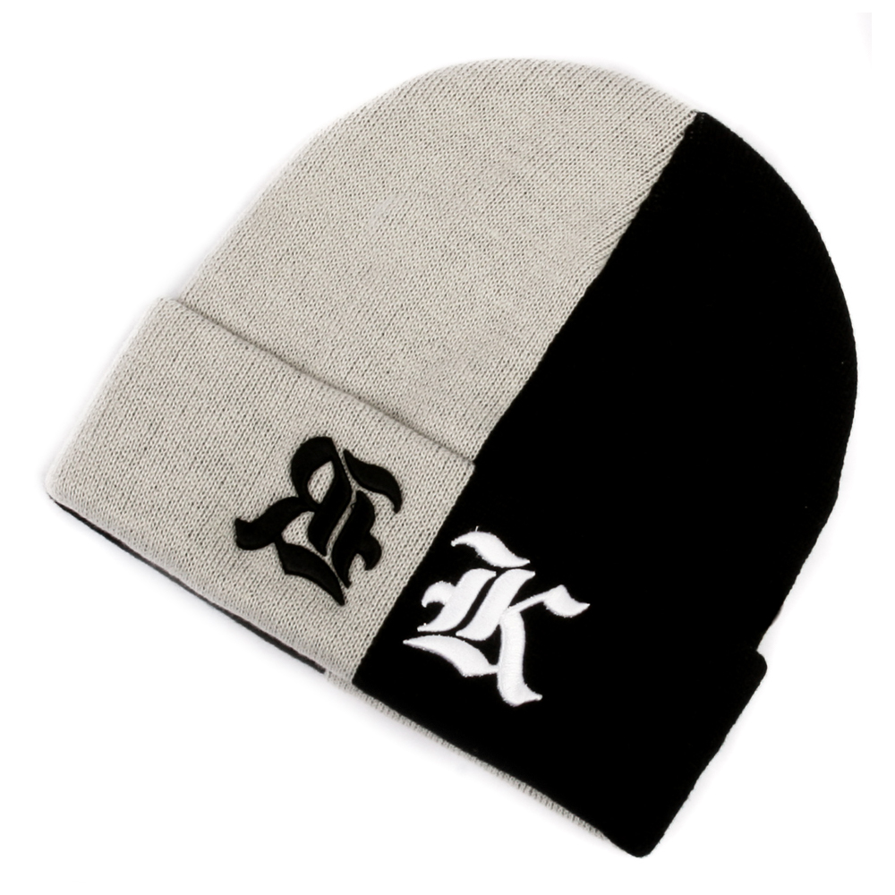 Art & Ink Beanie Rook two tone