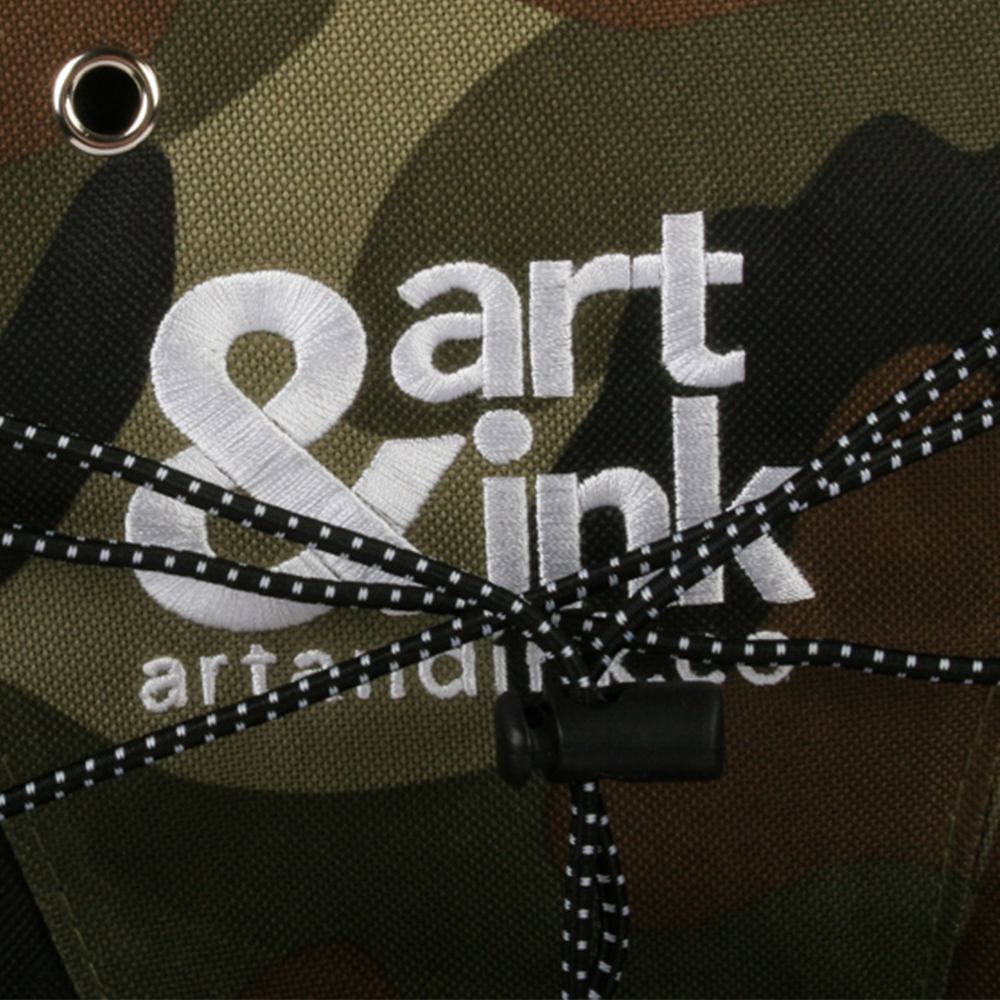 Art and Ink Urban CamoBackpack