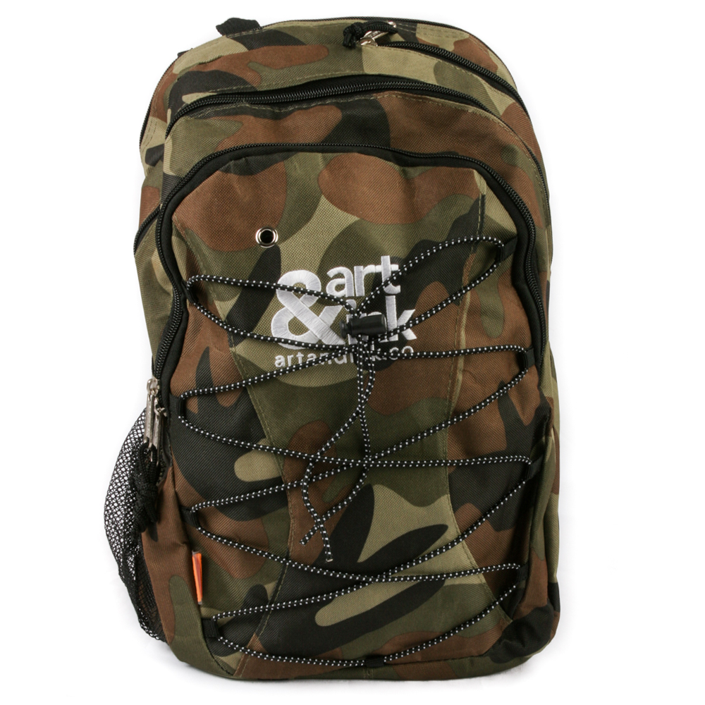 Art and Ink Urban Camo Backpack