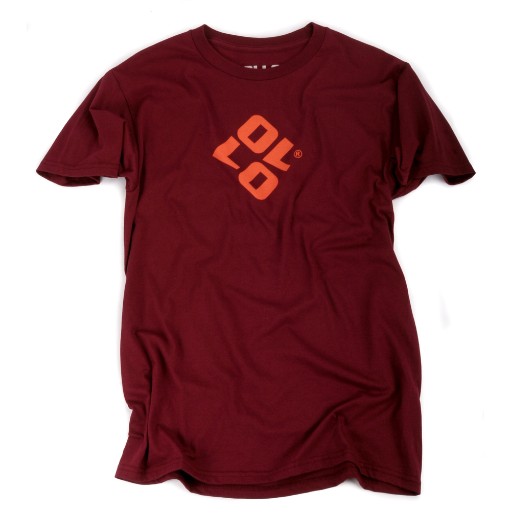 Art & Ink Ollo Burgundy Branded T-shirt