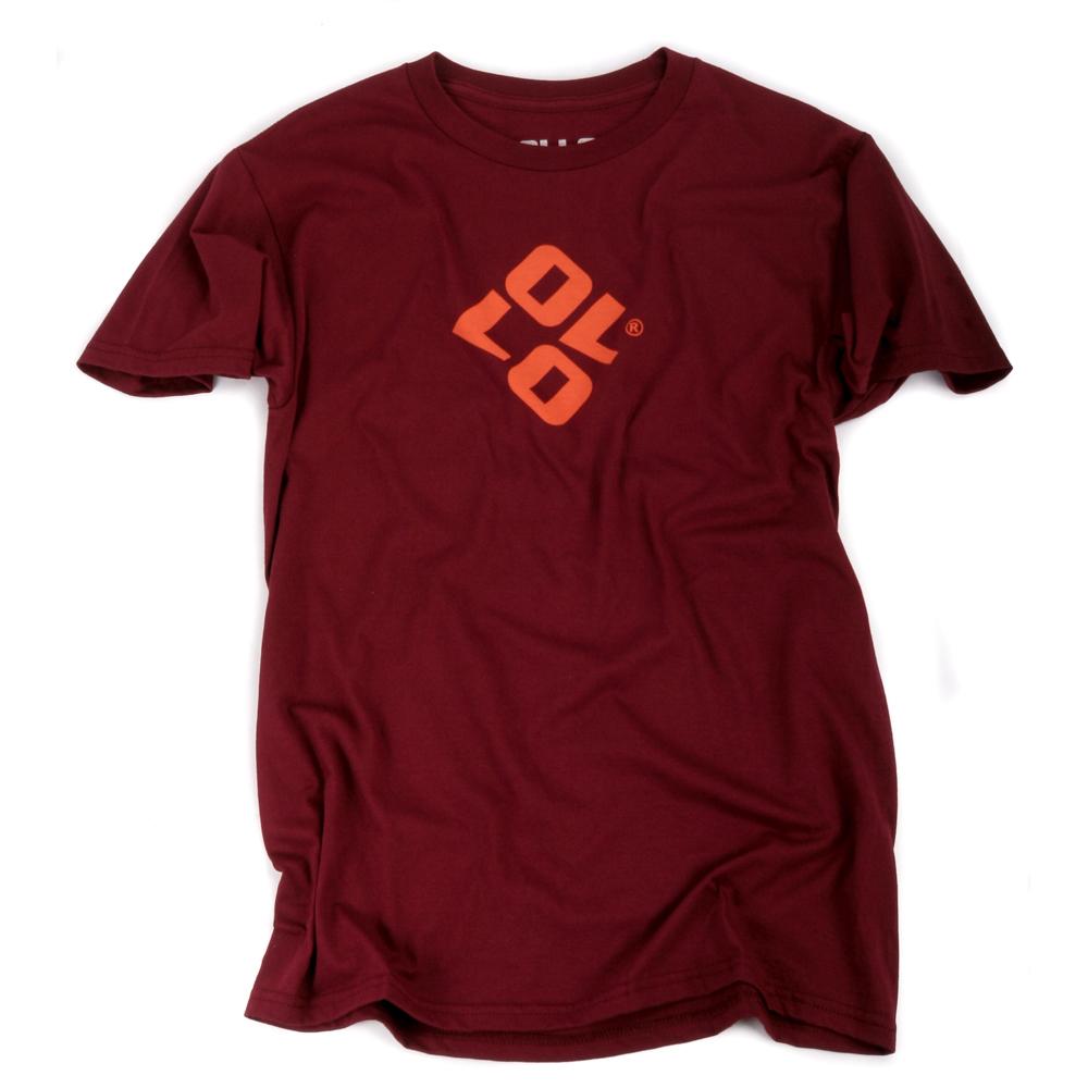 Art & Ink Ollo Burgundy Branded T-shirt