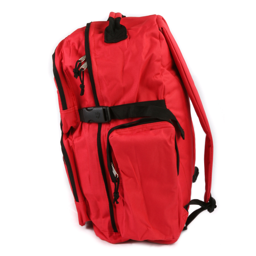 Art and Ink Deluxe Red Bottle Backpack