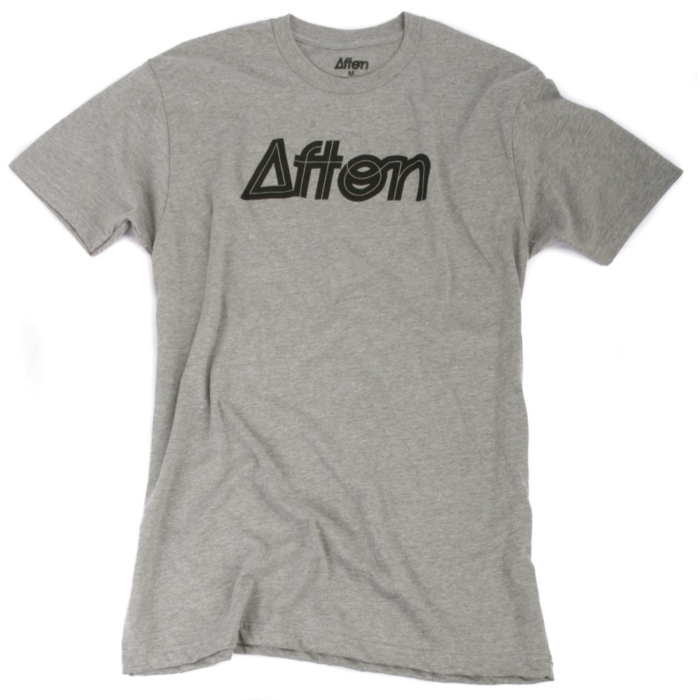 Art and Ink Afton Grey Branded T-shirt