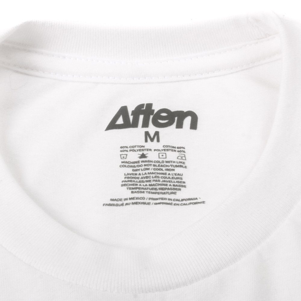 Art and Ink Afton White Branded T-shirt