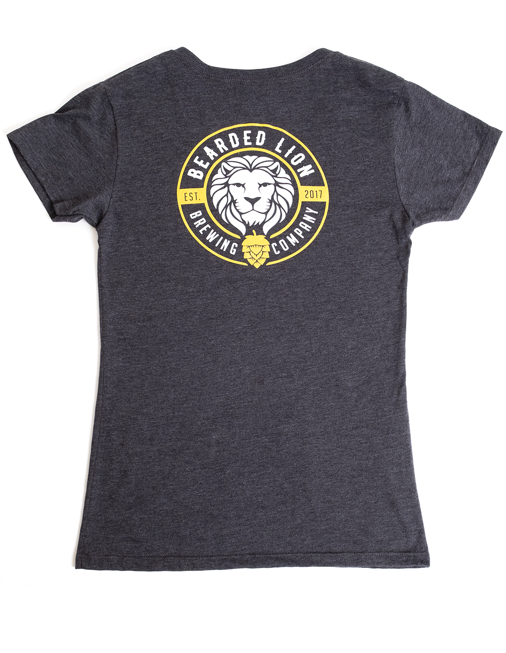 Art and ink Bearded Lion Brewing Company branded t-shirts