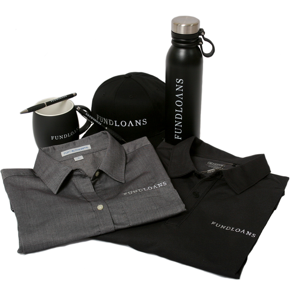 Art and Ink Fundloans Branded Corporate Merchandise