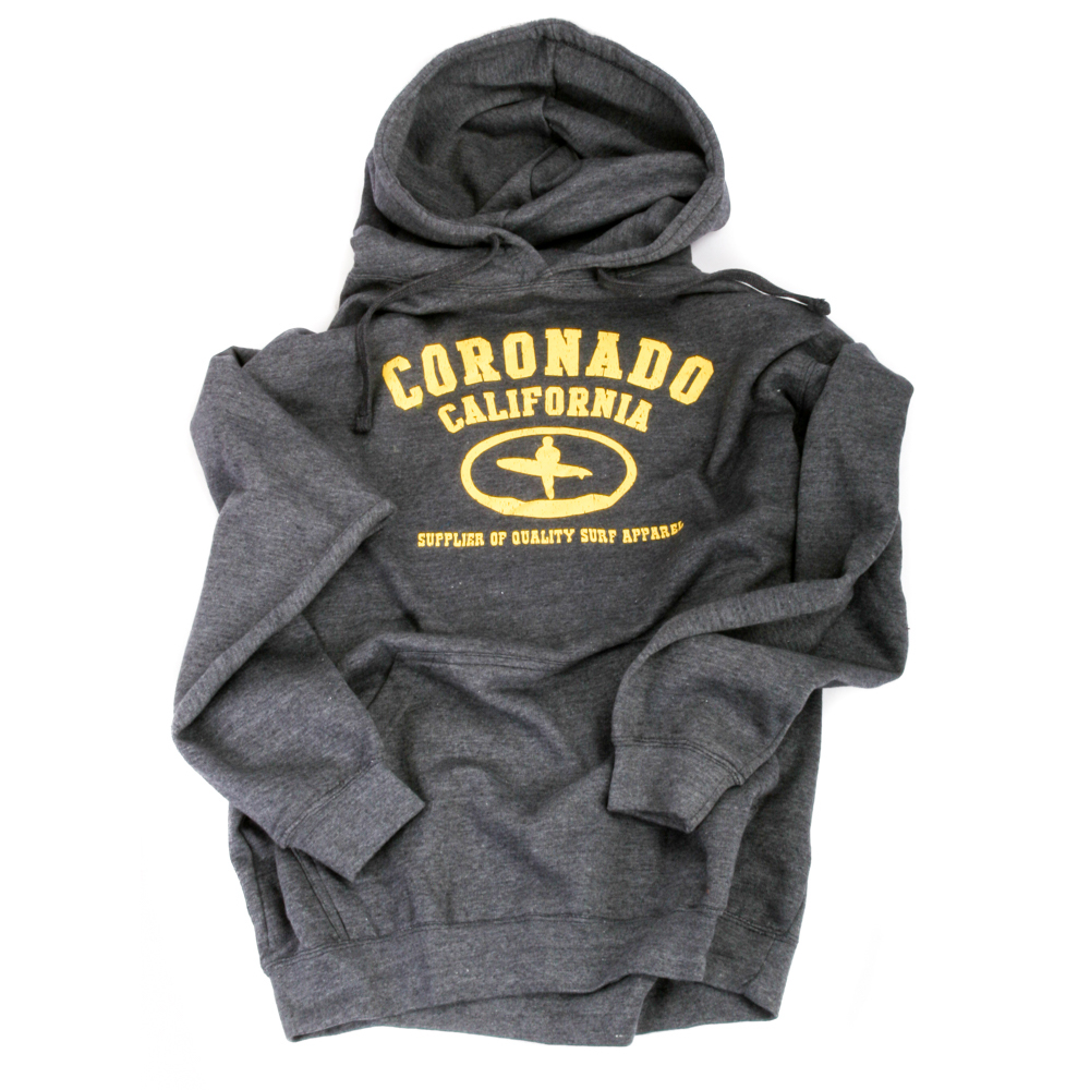 Art and Ink Grey Heather Branded Hoodie