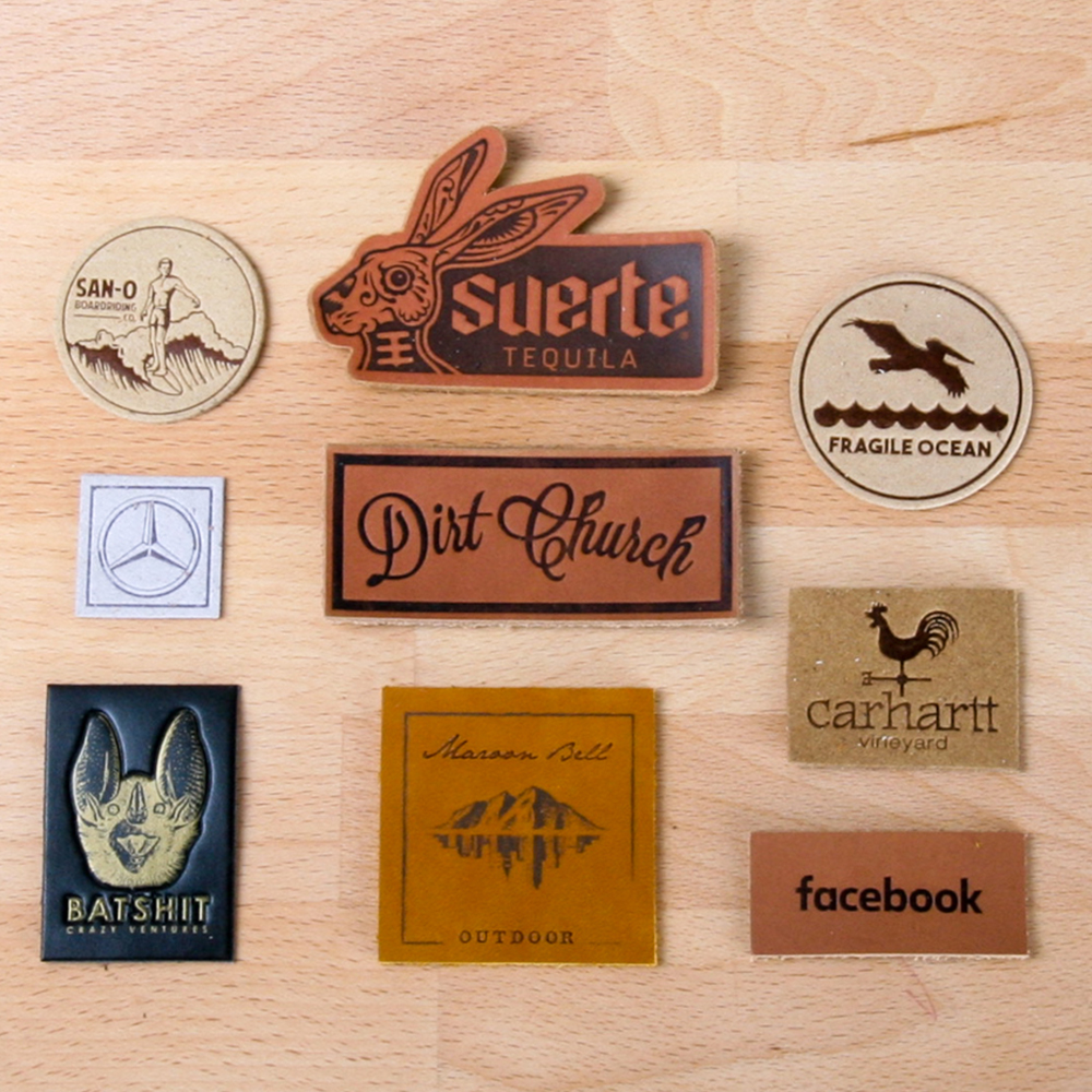 Art and Ink Leather Patches