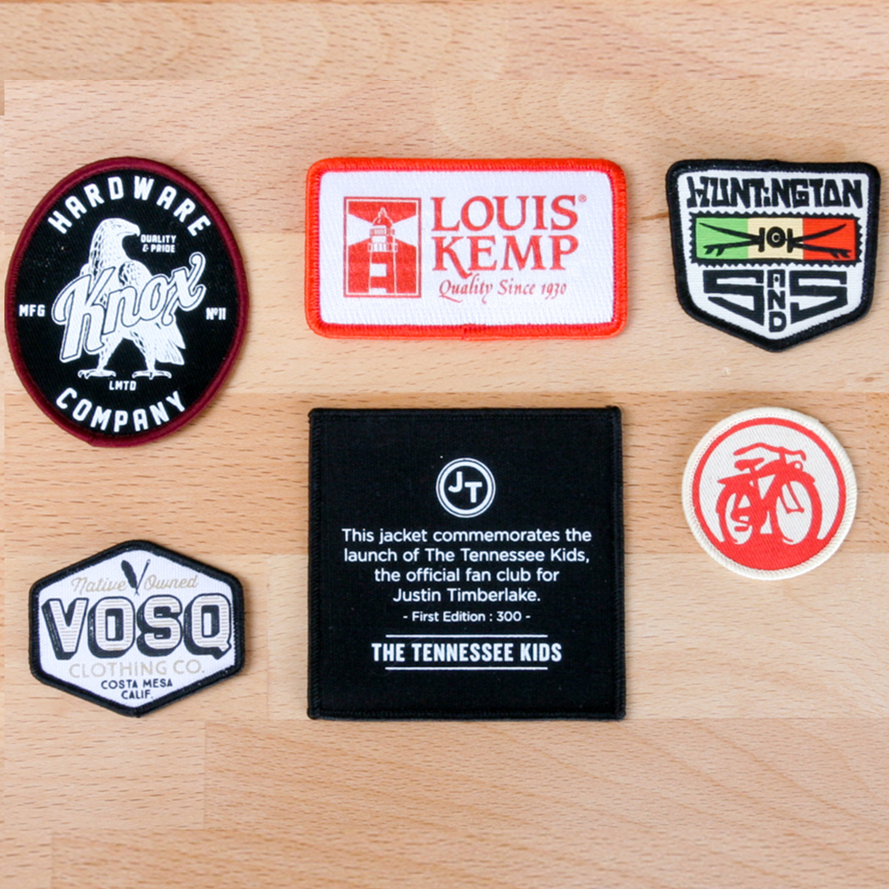 Art and Ink Printed Patches