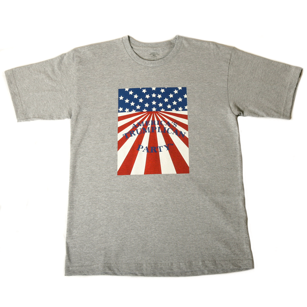 Art and Ink Trumplican Party Grey T-Shirt
