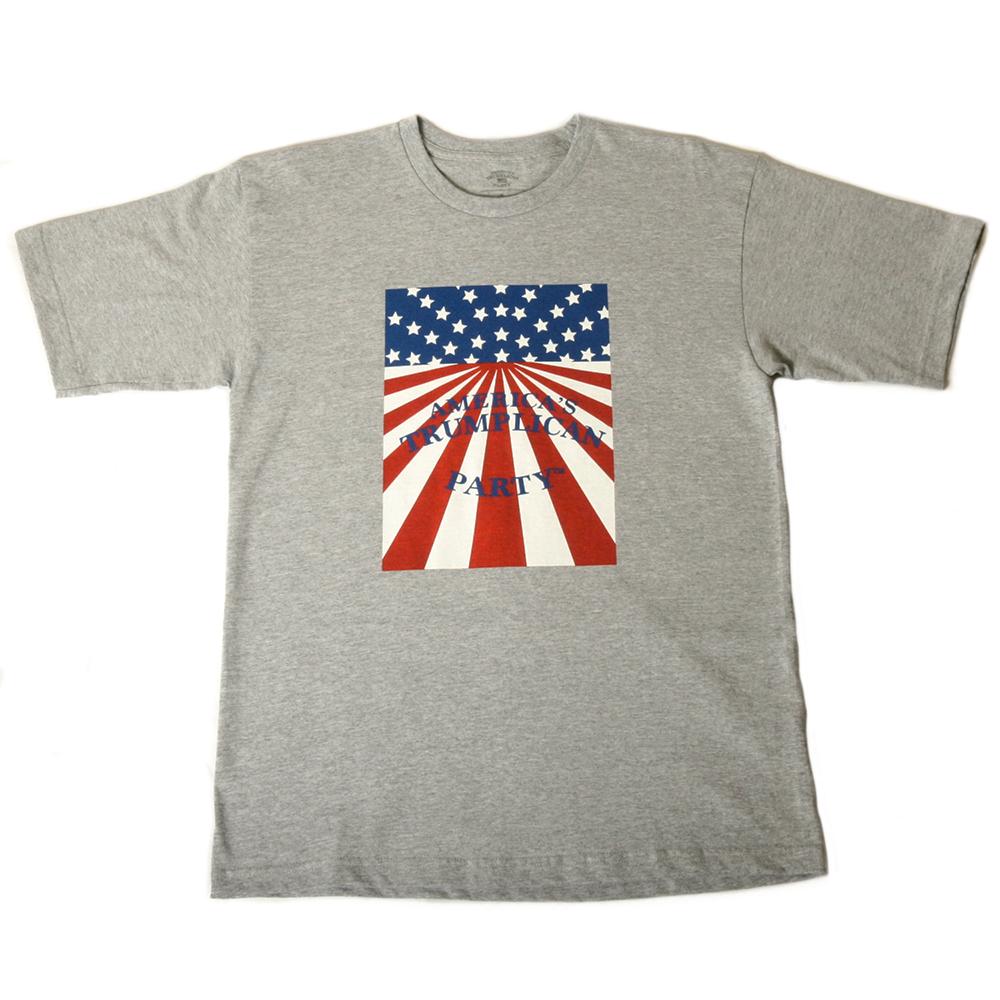 Art and Ink Trumplican Party Grey T-Shirt