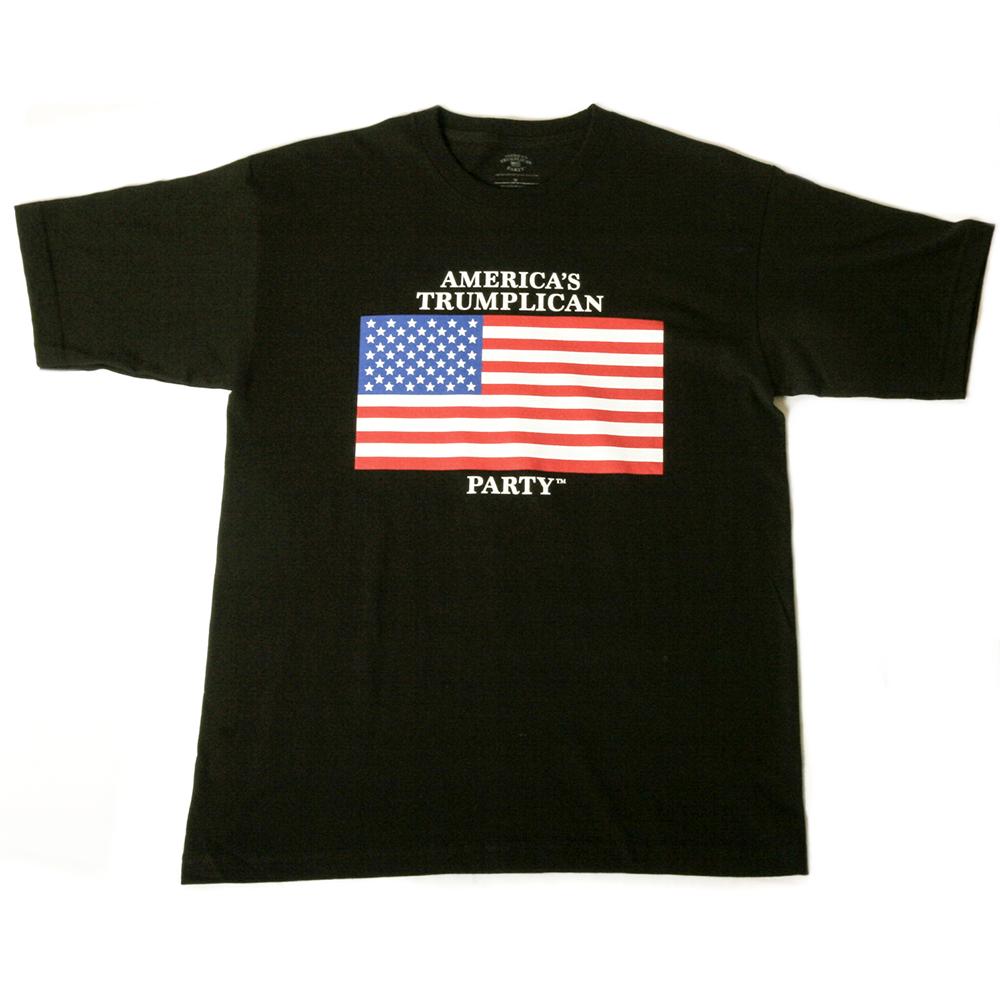 Art and Ink Trumplican Party Black T-Shirt