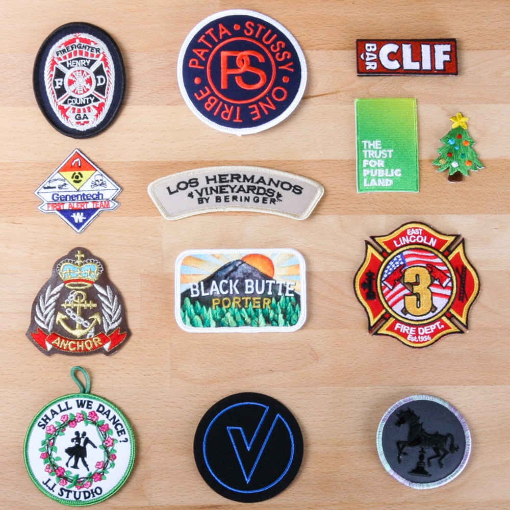Art and Ink Embroidered Patches