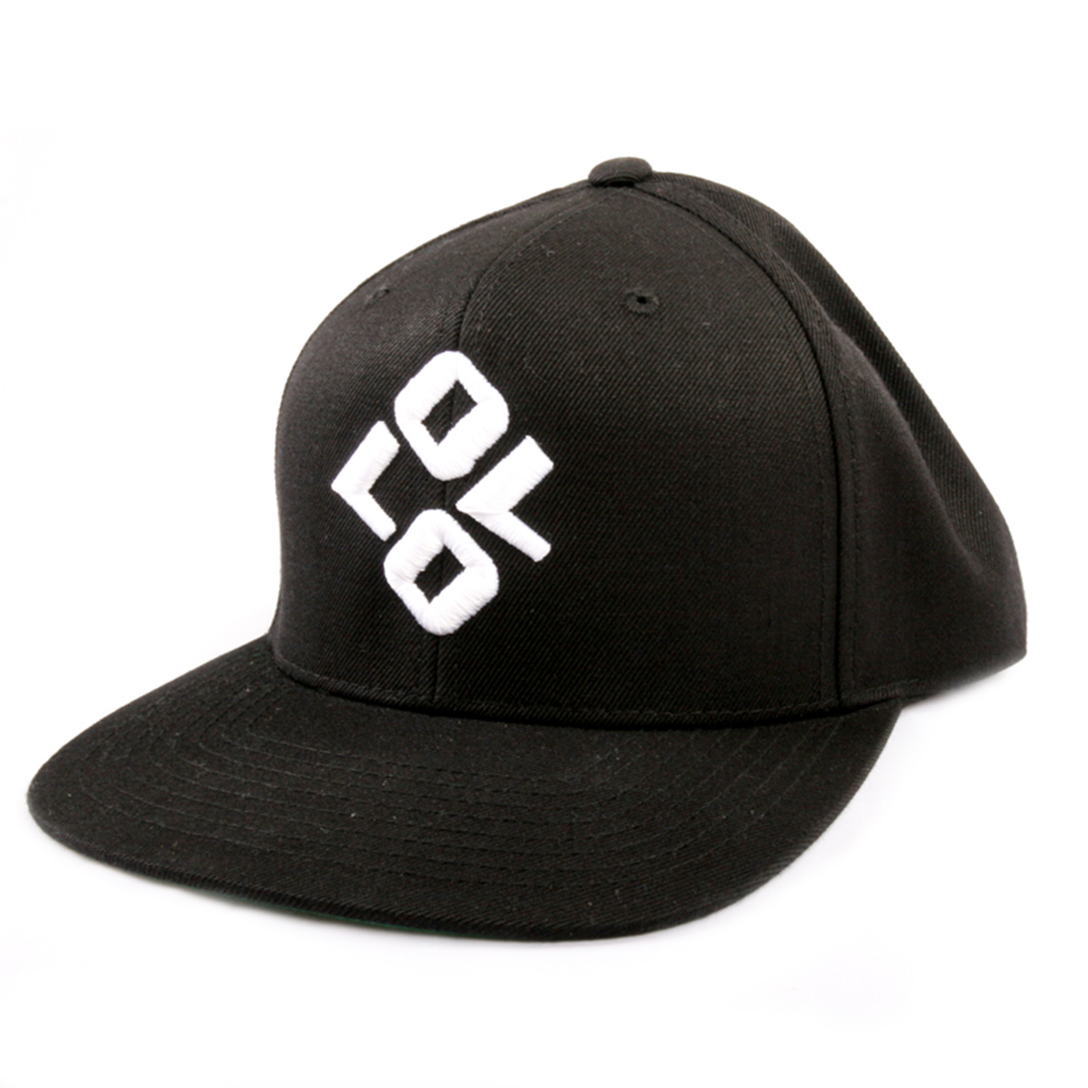 Art and ink Ollo Black embroidered cap