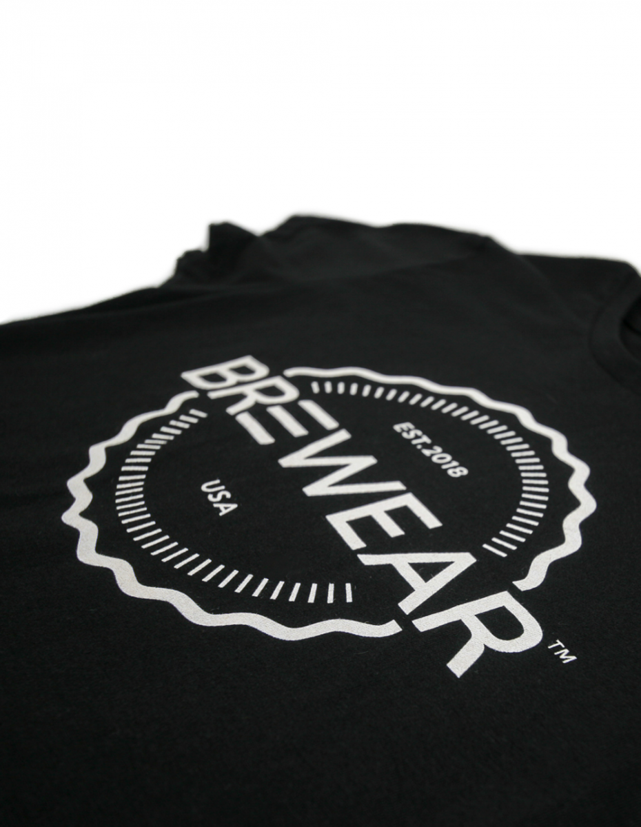 Art and Ink Brewear Branded Black T-shirt