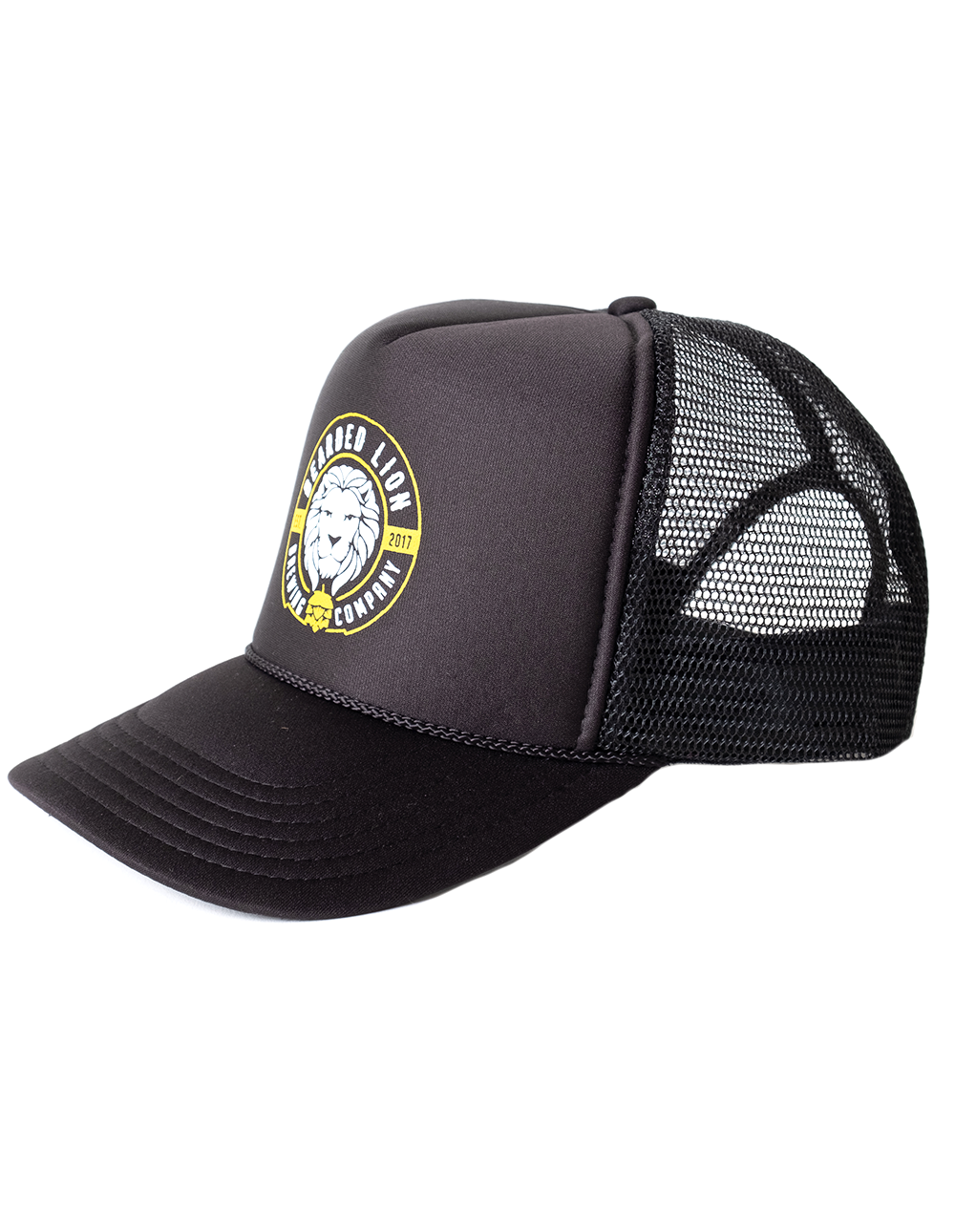 Art and ink bearded lion branded cap