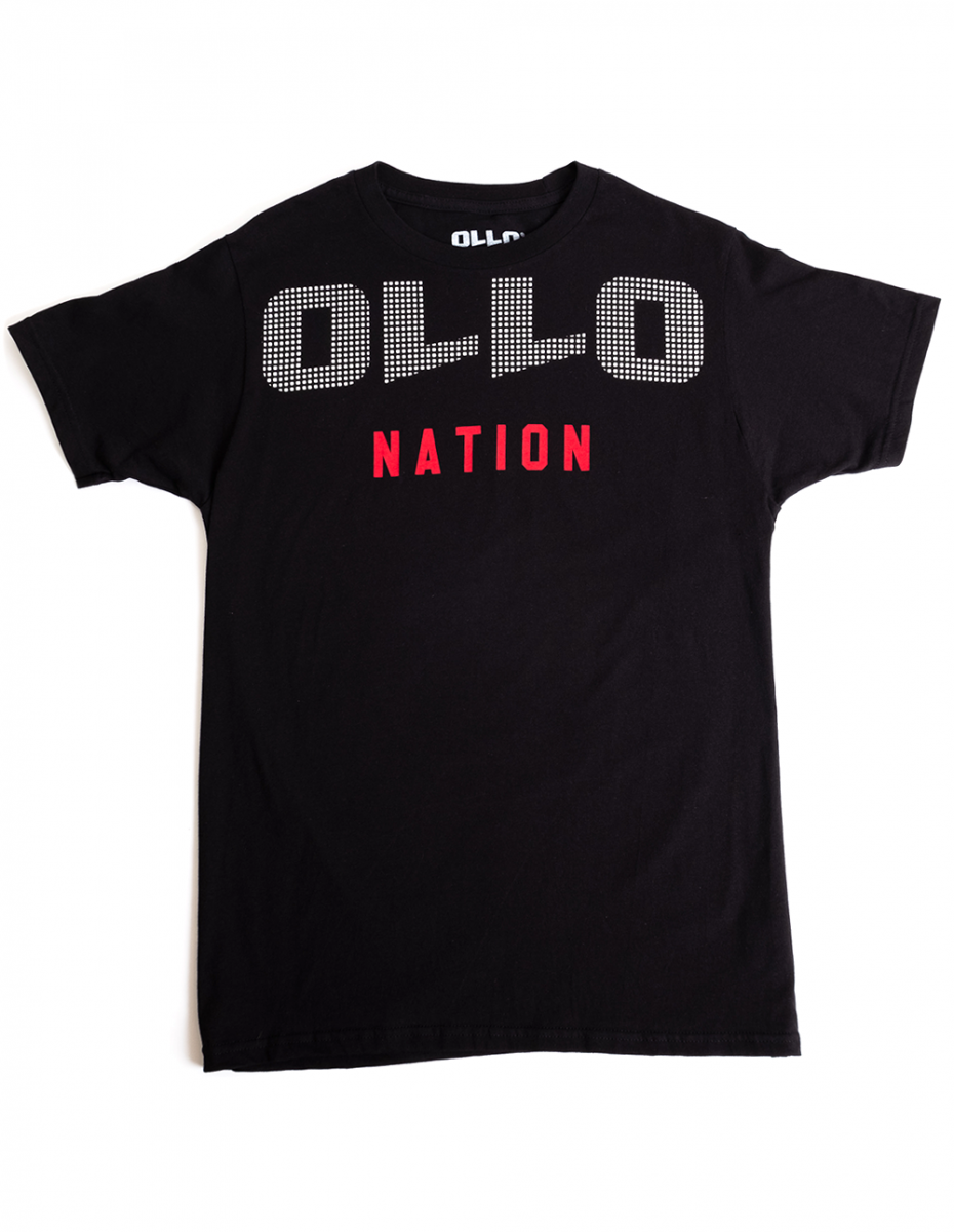 Art and ink ollo printed t-shirt