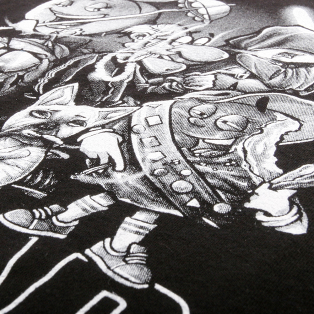 Art and Ink The Classics Printed T-shirt