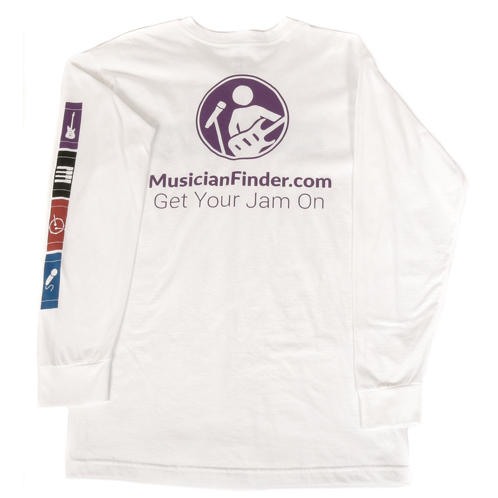 Art & Ink Musicfinder.com T-shirt