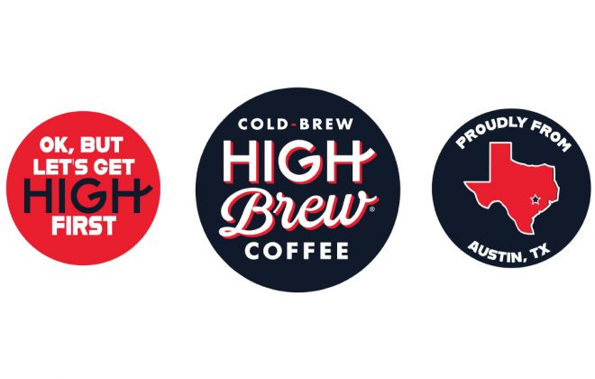 High Brew Coffee Branding